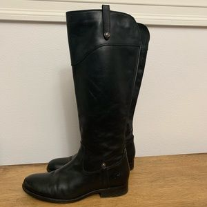 Frye Melissa Button Extended Calf Boots (Size 9)
